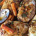 Poulet sauce chermoula