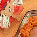Biscuits apéro parmesan et tomates séchées