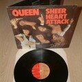 Queen Sheer heart attack album vinyl France pochette ouvrante