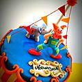 Gâteau thème cirque