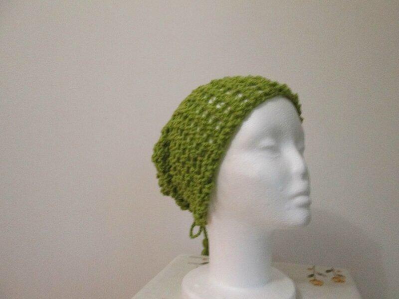 Col façon bonnet en favorite vert (2)