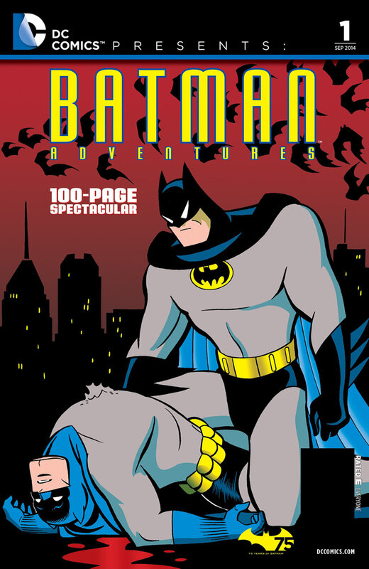 DC comics presents batman adventures 01