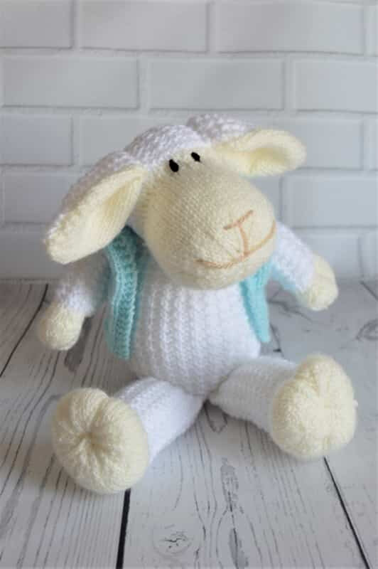 Traduction Mouton the Sheep - Knitting by Post
