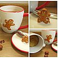 Mug cookie noisettes épices
