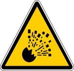 danger explosion