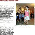 défilé de mode, pierry 2012