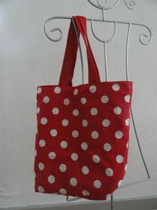 Doublure sac rouge