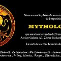Prochaine exposition : mythologies