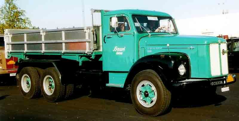 Scania-Vabis_LT75_Truck_1962