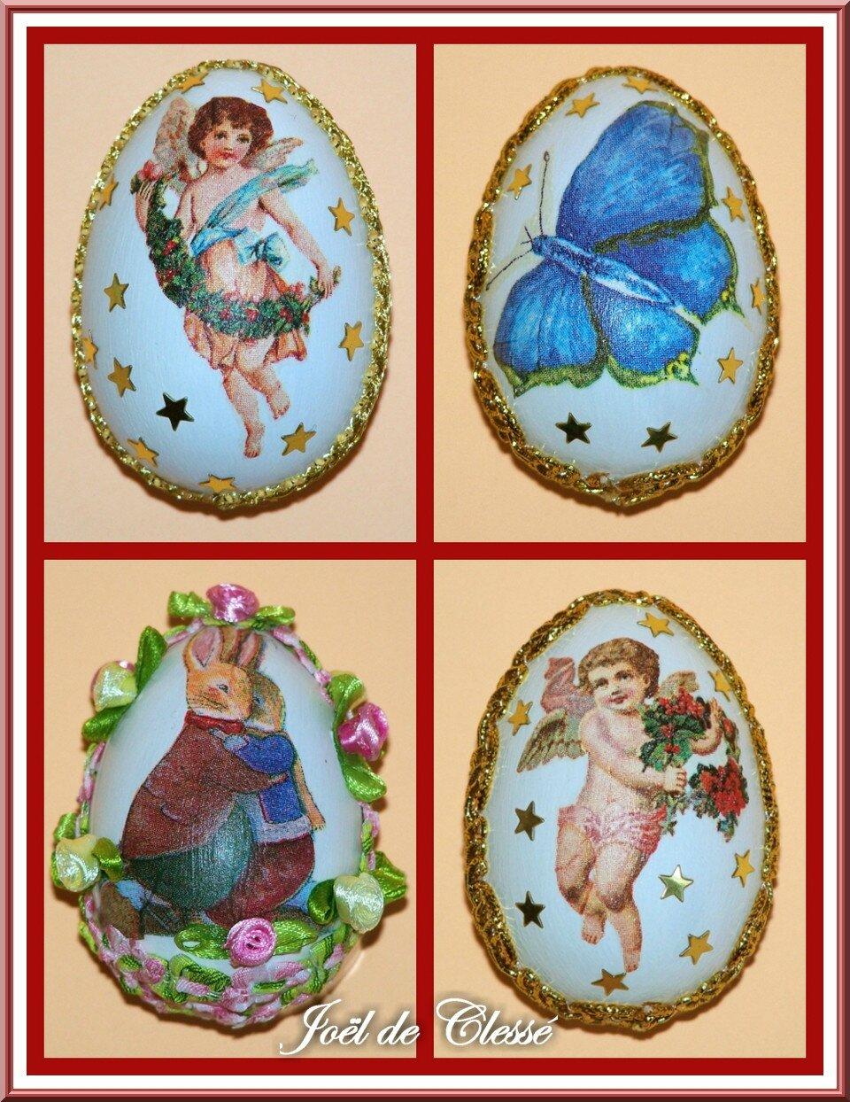 Collage œufs de Pâques 2