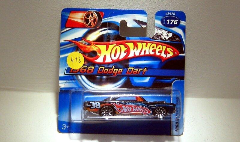 Dodge dart de 1968 (Hotwheels 2006)
