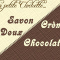 savon creme 2 chocolat long grand
