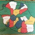 Puzzle Réunion vert