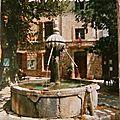 Fontaine typique