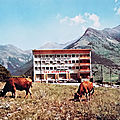 Sollières (Savoie), le centre de vacances des Alouettes
