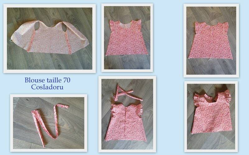 Blouse taille 70a