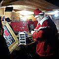 Hortense, fournisseuse officielle du Père Noël. Photo réalisée par Claude Pichavant