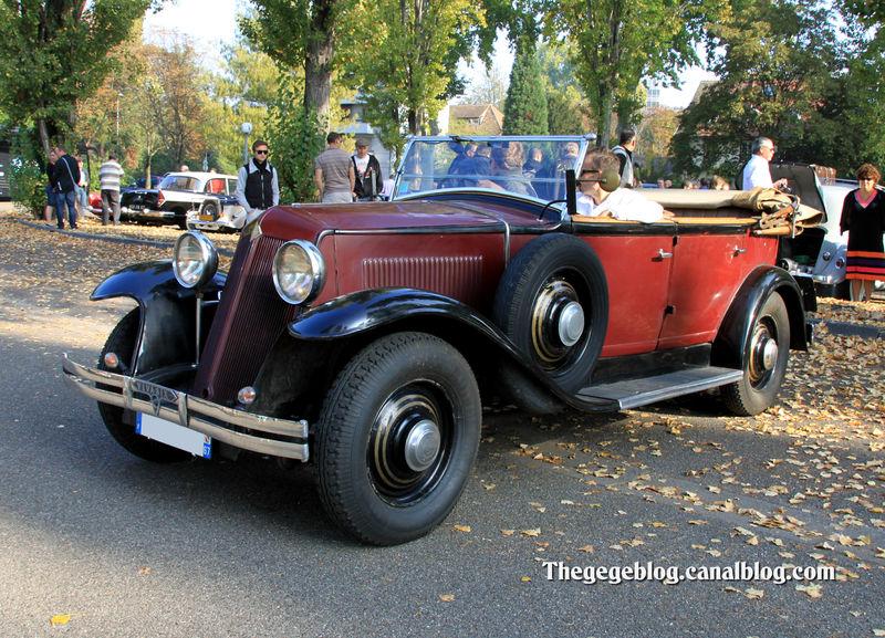 Renault vivasix cabriolet (1927-1930)(Retrorencard octobre 2011) 01