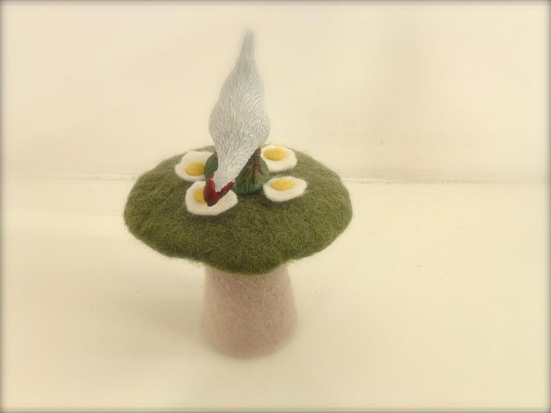 Oeufs au plat miniatures
