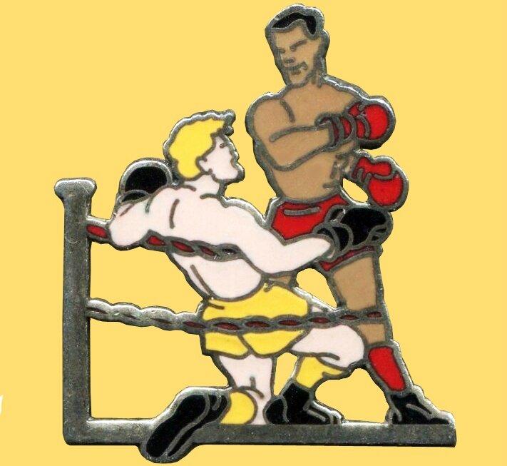 Pins Boxeur