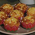 Muffins citron / chocolat blanc style marks & spencer