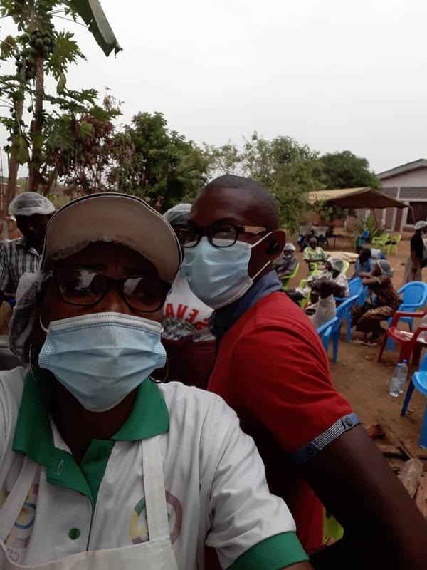 Formation organisée par le PAM sur la transformation des produits dérivés du manioc