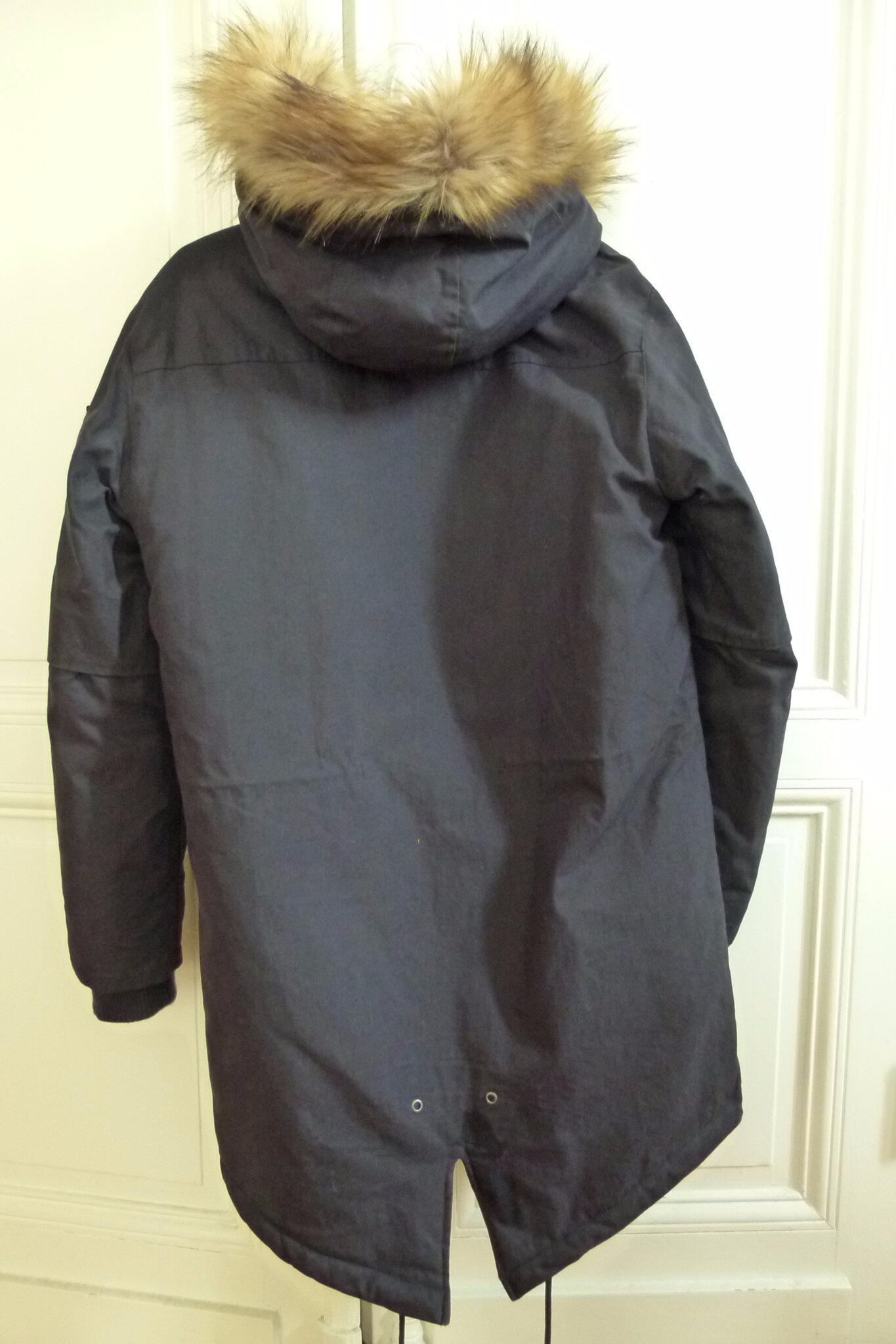 sélection premium b694e c0ed5 Beau manteau homme Bershka - Le vide dressing des copines