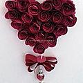 Tuto video - comment réaliser un cœur de boutons de roses pour la fête des mères