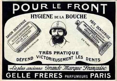 Poilu hygiène de bouche