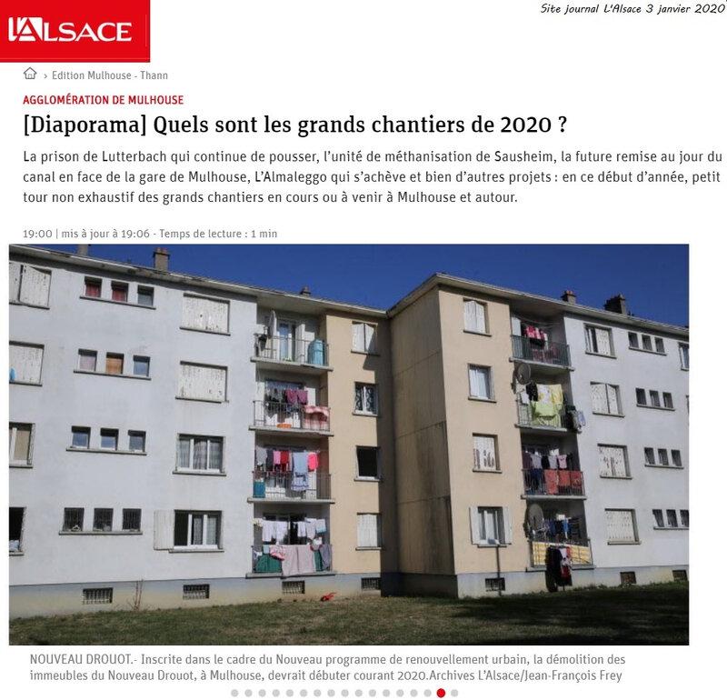 Quartier Drouot - Démolition des immeubles du Nouveau Drouot
