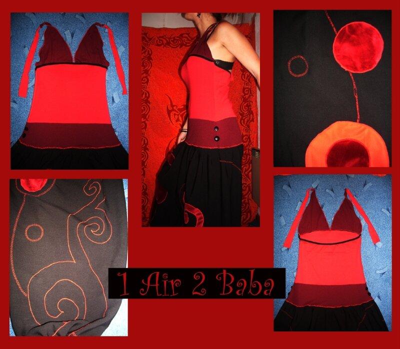 robe sarouel velour3