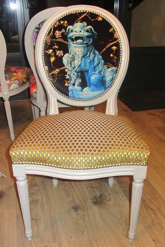 chaise louis XVI côté sièges Brest