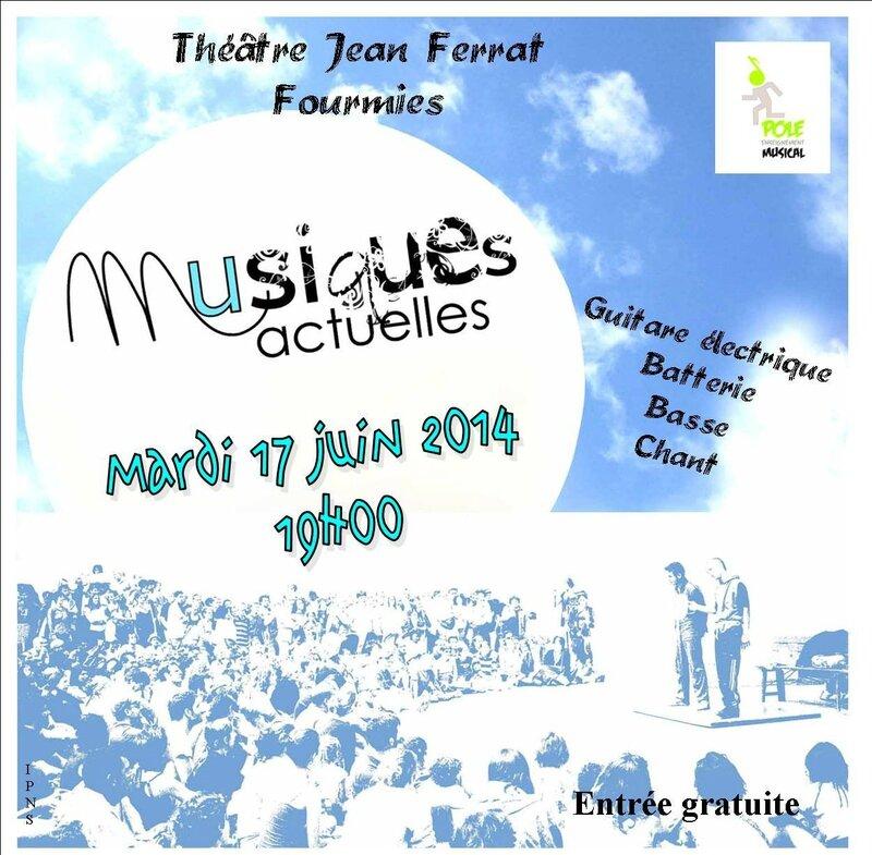 Affiche Musiques Actuelles2014