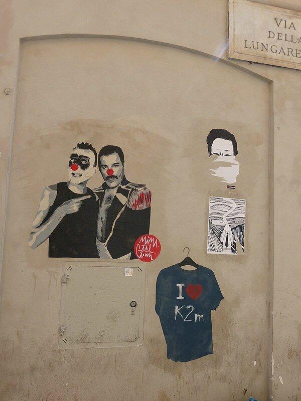 STREET ART VIA DELLA L
