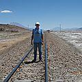 ligne se chemin de fer Uyuni - quelque part au chili
