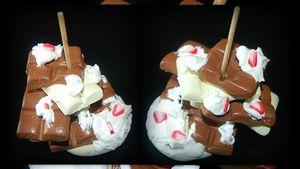 déco de table chocolat