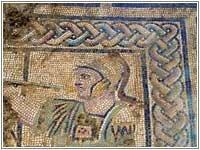 Mosaïque d'Achille