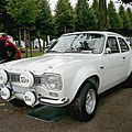 FORD Escort RS 1600 berline 2 portes 1973 Schwetzingen (1)