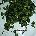 Tatziki, billes de vinaigre balsamique