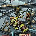 Idw tortues ninjas / teenage mutant ninja turtles animated