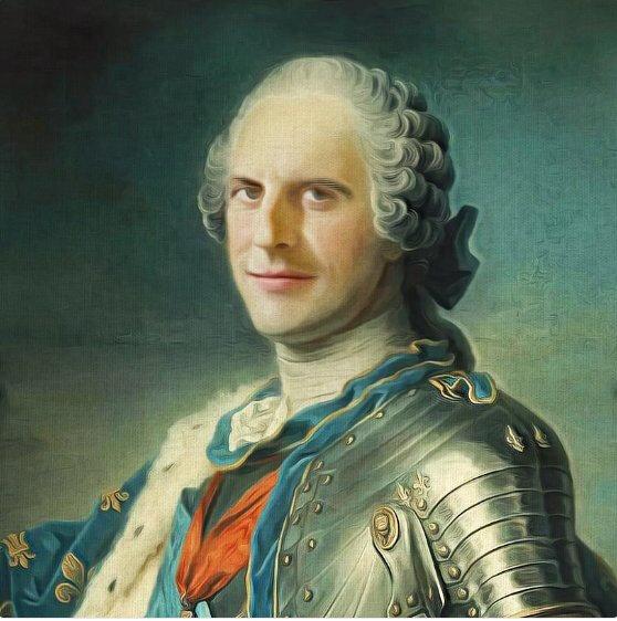 Macron-Louis XV