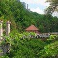 Le pont de l'abîme (bauges)
