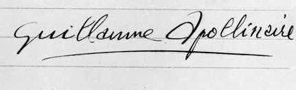apollinaire_signature