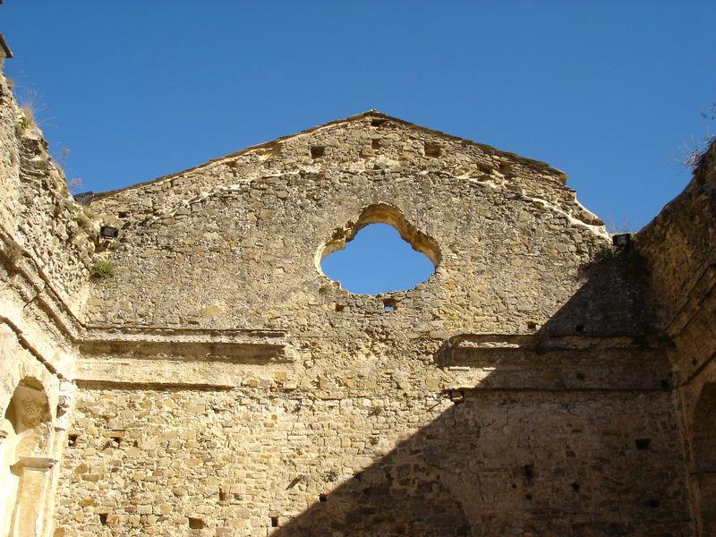 ANCIENNE ENTREE DE LA VIEILLE EGLISE DETRUITE DE BAIARDO