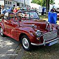 Morris minor 1000 découvrable (regiomotoclassica 2011)