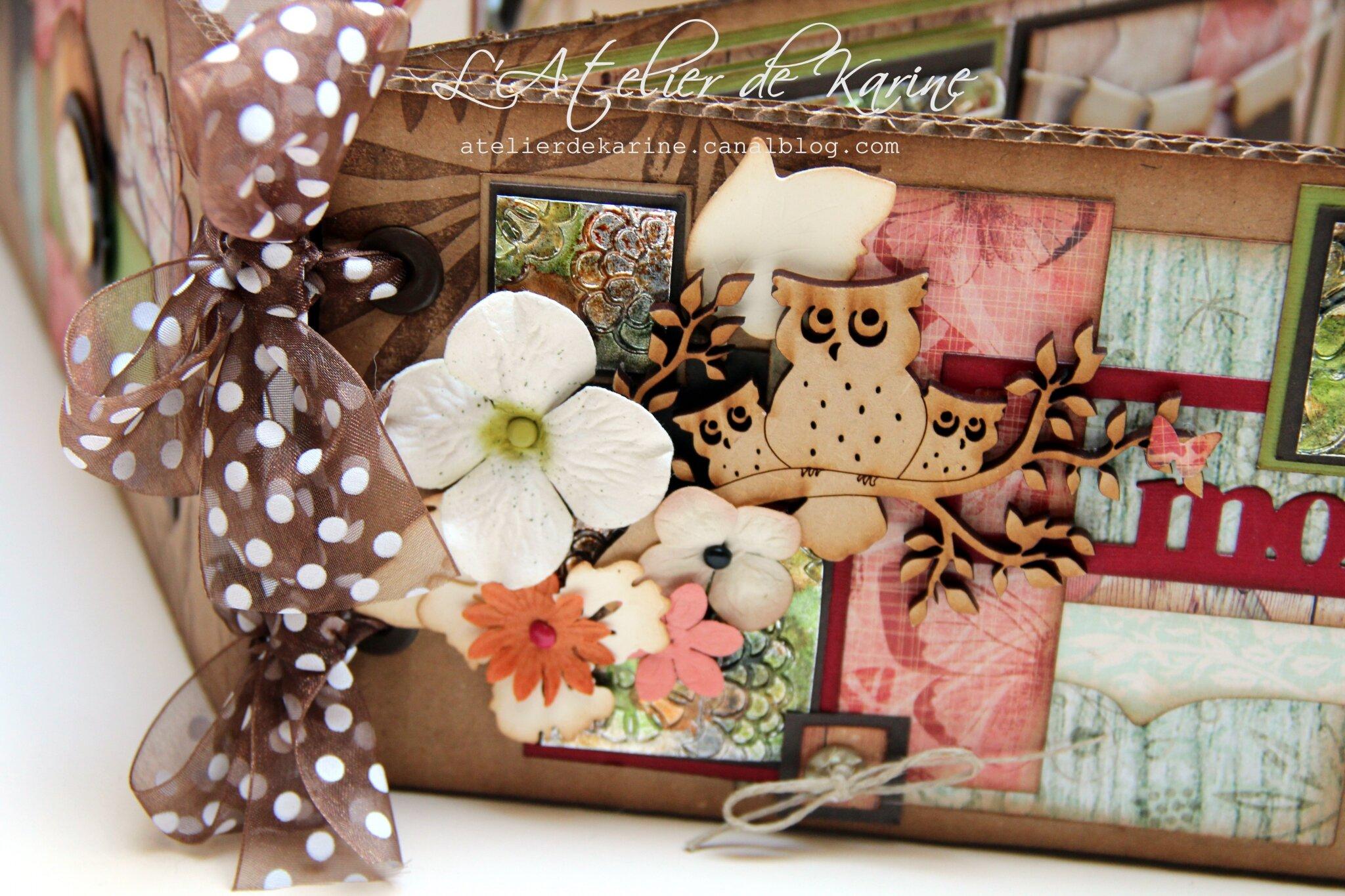 mini album - cadeau pour Sandra 10