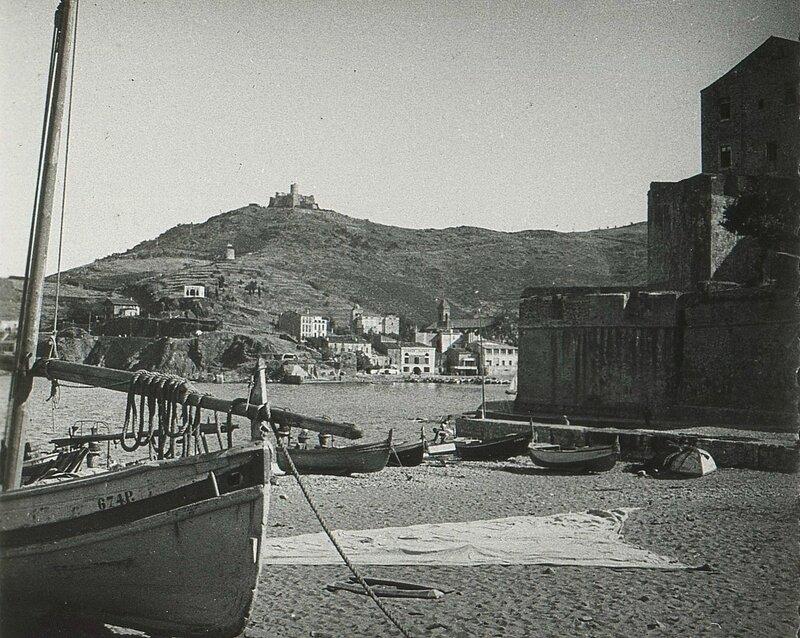 6 Collioure Vue sur le fort St-Elme