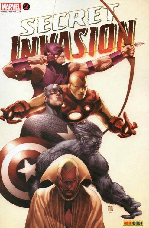 panini secret invasion 2