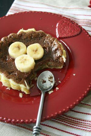 Tartelette chocolat à la banane 3