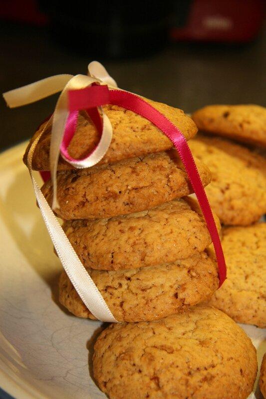 cookies au pralin